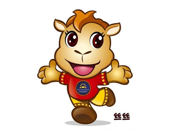 人类的朋友,古代丝绸之路的重要工具骆驼被选为本届电组节的吉祥物,吉