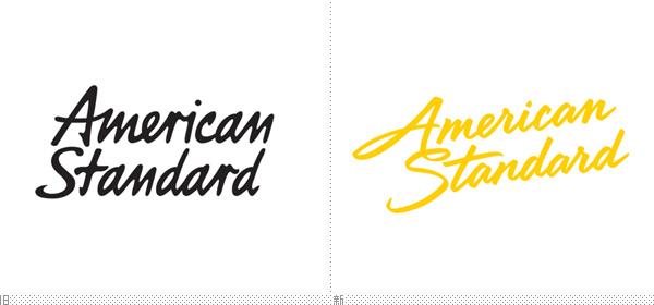 设计 美标/近日,美标更新了品牌形象,新logo设计依旧采用手写字体,笔划...