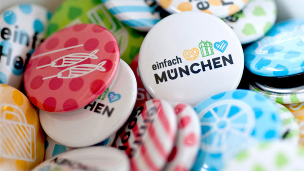 慕尼黑发布全新城市形象标识/青岛包装设计