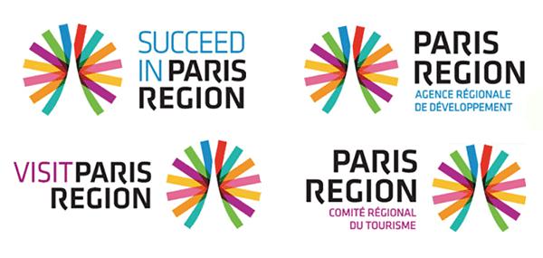 法国巴黎大区(paris region)新logo