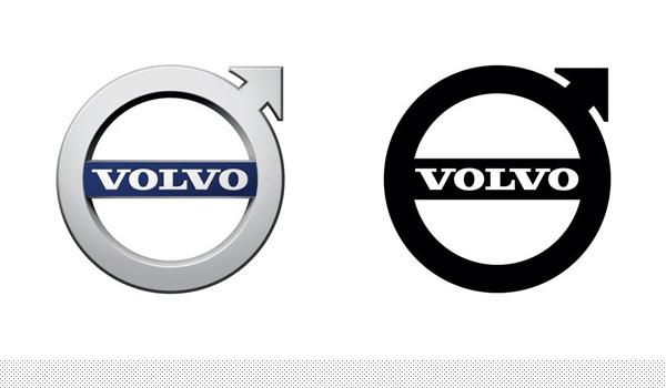 沃尔沃 Volvo 新LOGO高清图片