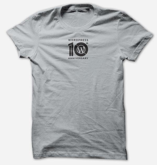 wordpress深圳vi设计_发布10周年纪念标志设计_一九八品牌设计公司